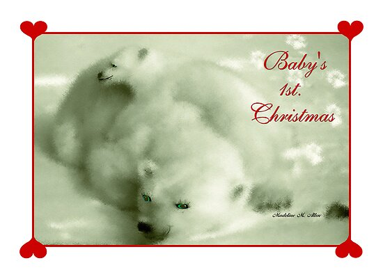 BABY'S 1 ST. CHRISTMAS by Madeline M  Allen