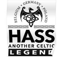 Cool 'Hass Another Celtic Legend' T-shirts, Hoodies, Accessories and Gifts Poster