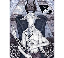 Baphomet Photographic Print