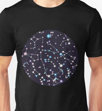 Starry Sky (purple twinkle) Unisex T-Shirt