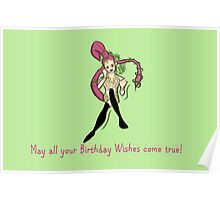 Zelda Bithday Card: Great Fairy Wishes Poster