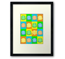 Tako Chan Pop Art V2: Oddity Framed Print