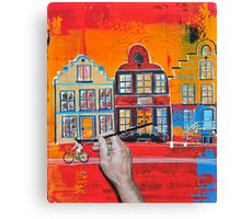 Finishing touch Canvas Print