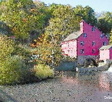 Old Red Mill - Clinton NJ by Douglas Vance