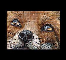 Fox #1 by artbyakiko