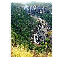Blencoe Falls in flood - North Queensland Photographic Print