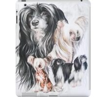 Chinese Crested /Ghost iPad Case/Skin