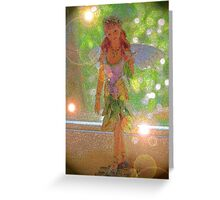 Fairy in the window Greeting Card