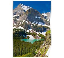 Glacier Backcountry Poster