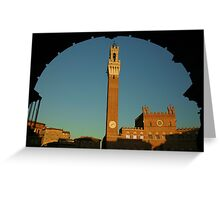 Siena Evening Greeting Card