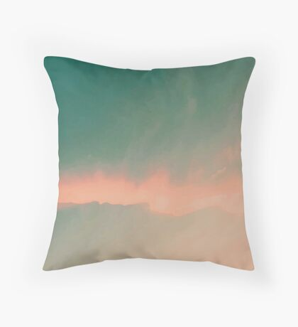 Night & Day Throw Pillow