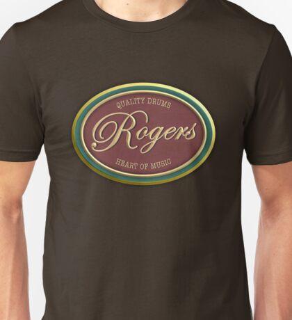 Quality Drums Rogers Vintage Unisex T-Shirt