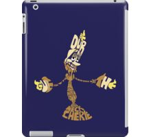 Be our guest iPad Case/Skin