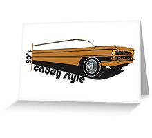 Caddy Style Greeting Card