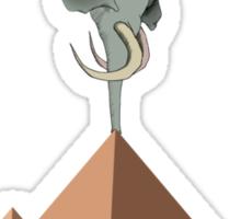 Gym Addict - Yoga Elephant Sticker