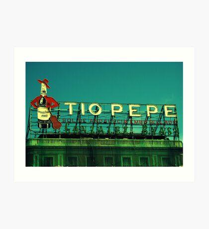 Tio Pepe Art Print