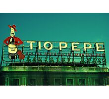 Tio Pepe Photographic Print