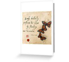Haiku Greeting Card