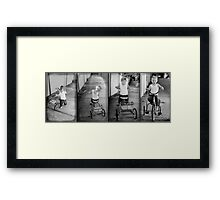 The Tricycle Framed Print