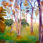 Ghost Gums  by C J Lewis