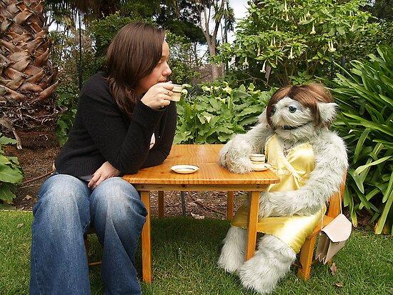 Tea party in the garden by Sayraphim