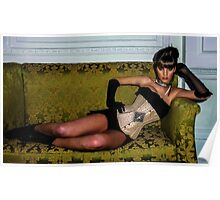 A Velda Lauder Designed Corset  Poster