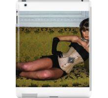 A Velda Lauder Designed Corset  iPad Case/Skin