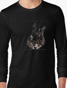 Guitar Leopard Long Sleeve T-Shirt