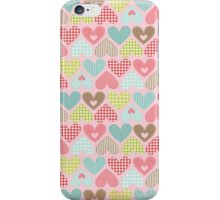 Hearts - Craft Design  iPhone Case/Skin