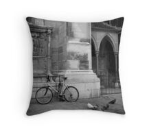 Why ride when you can fly? Throw Pillow