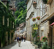 Rocamadour, France by William Mason