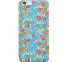 forever trees blue iPhone Case/Skin