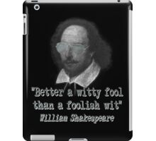 the Witty Fool iPad Case/Skin