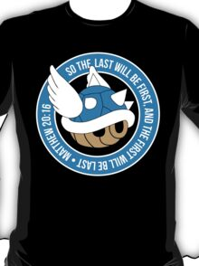 Blue Turtle Shell T-Shirt