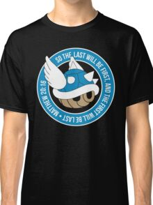 Blue Turtle Shell Classic T-Shirt