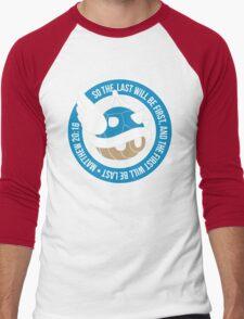 Blue Turtle Shell Men's Baseball ¾ T-Shirt