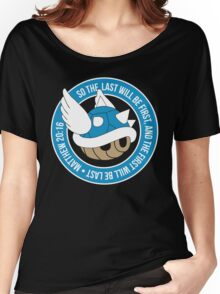 Blue Turtle Shell Women's Relaxed Fit T-Shirt