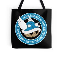 Blue Turtle Shell Tote Bag