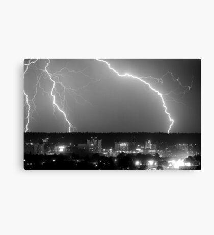 Spokane Electric Skies Canvas Print
