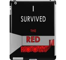 I Survived the Red Room (Graphic Version) iPad Case/Skin