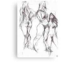 3 Emmas Canvas Print