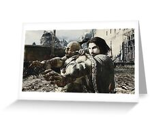 Middle Earth Shadow of Mordor Print Greeting Card