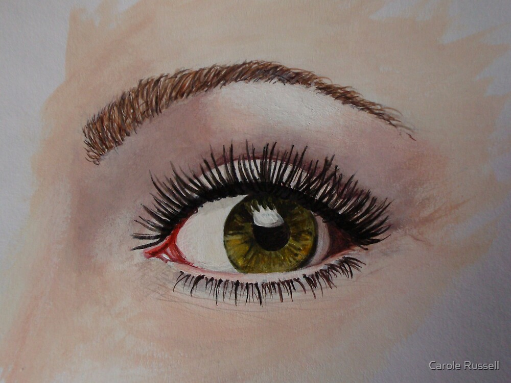 Eye eye - just an eye by Carole Russell