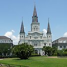 Jackson Square New Orleans Louisiana by phil777
