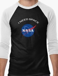 Nasa I need space Men's Baseball ¾ T-Shirt