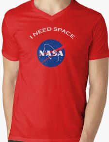 Nasa I need space Mens V-Neck T-Shirt