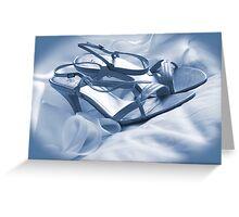 Wedding Shoes Greeting Card