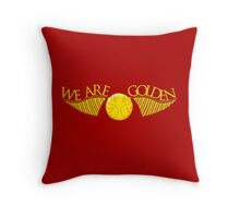 We Are Golden Throw Pillow