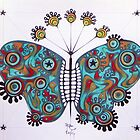constellation butterfly by federico cortese