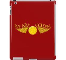 We Are Golden iPad Case/Skin